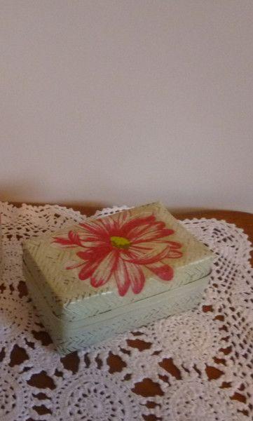 """Bastdose """"Blume"""" von Mosaikhandwerk auf DaWanda.com"""