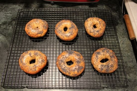 My Best Bagels with Step by Step Photos Part 1 | Real Baking with Rose Levy Beranbaum  http://www.metrokitchen.com/product/ankarsrum-stand-mixer-original-matte-black