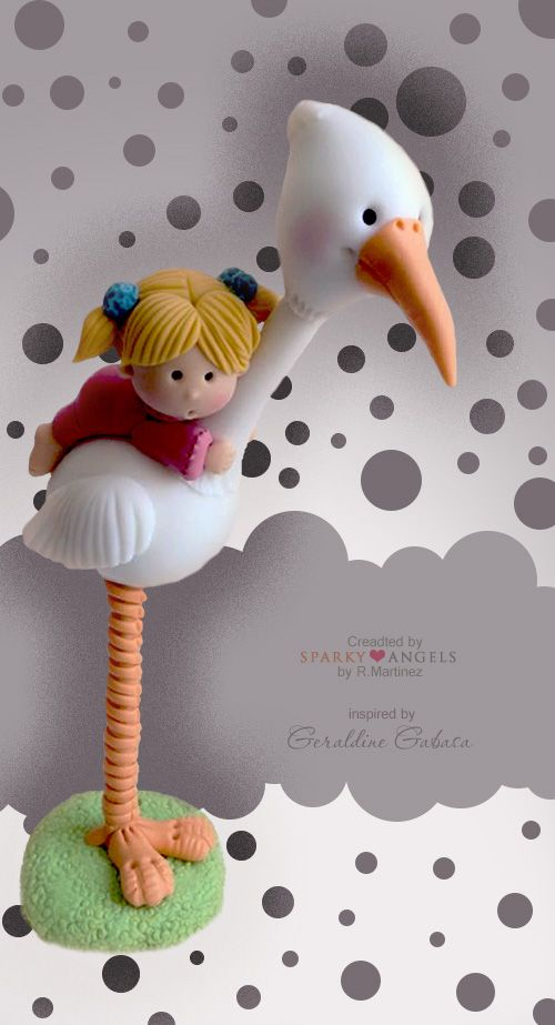 Figurine in cold porcelane. Love this one!