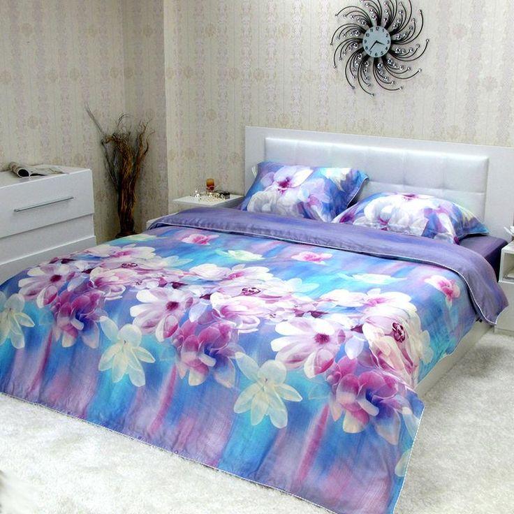 Completo lenzuola matrimoniale maxi copripiumino di Tencel® *Magnolia*