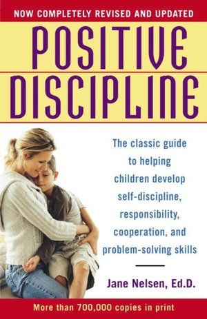 Positive Discipline- best parenting books I ever read are by Dr Jane Nelson. I had the pleasure of meeting her and she's the most authentic and inspirational woman/mother I've ever met who reminded me that no parent is perfect and every parent makes mistakes... However, if you send a message of unconditional love and mutual respect with your kids, mistakes can be mended and serve as a ground to build an even better relationship and a stronger family. I just love Dr Nelson and her…