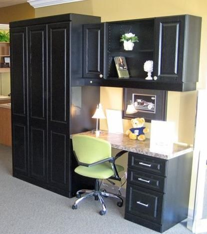 Small Office With Hidden Murphy Bed Great Home Office Ideas Pinterest Murphy Beds Small
