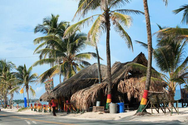 Kela's Bar, San Luis Beach, San Andres, Colombia