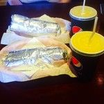 Post-exam burritos @gingerjoanna / 287 days ago around 3PM on Tue Jun  3 15:07:49 2014 © http://instagram.com/p/oywaM1OMSJ/