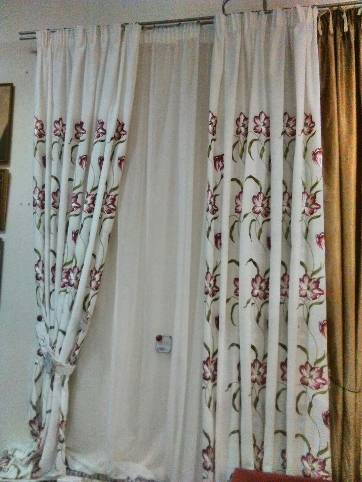 vk.com:shtorikrasotavdom Шторы с вышивкой. 2 пол.шир.1,9м., высота 2,8м. Цена со скидкой 10300 руб.