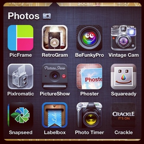 Neat photo editing programs for iphone.