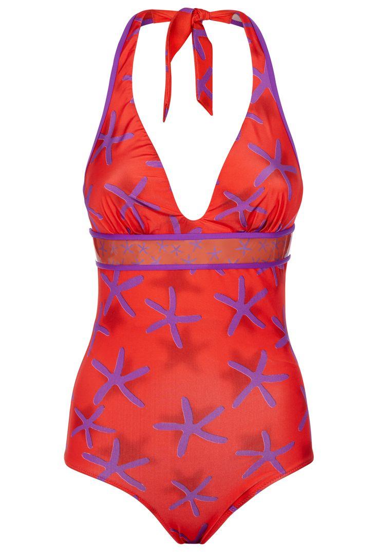 LA PERLA   Underwired swimsuit with starfish print #laperlalingerie #lingerie