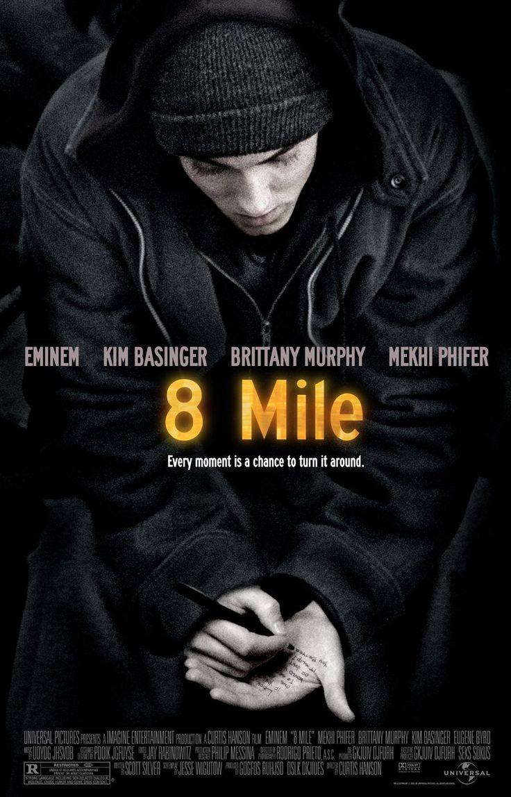 8 MileFilm, Movie Posters, African American, Brittany Murphy, Miles 2002, Eminem, 8 Miles, Favorite Movie, Detroit Michigan