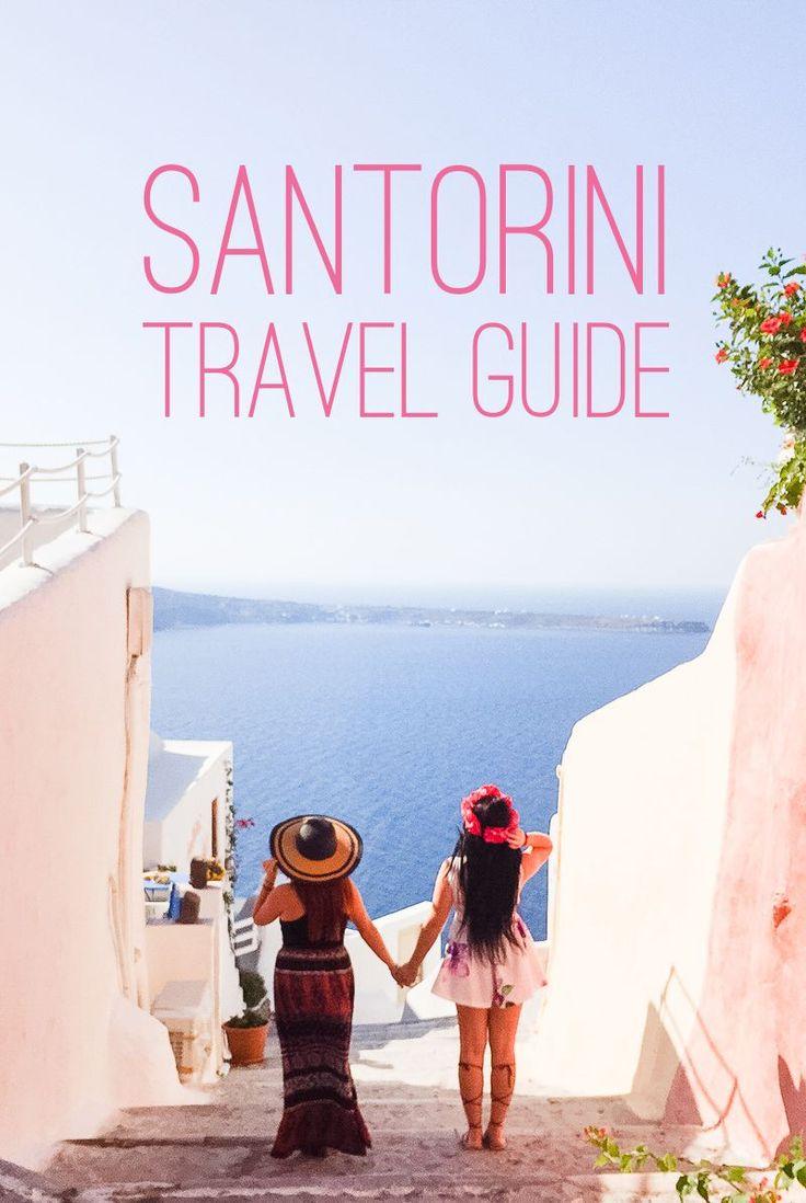Santorini Oia Travel Guide Reccomendations Honeymoon Colourful Place Greece Main