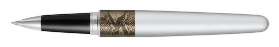 Pilot Metropolitan Animal Silver Python Rollerball Pen