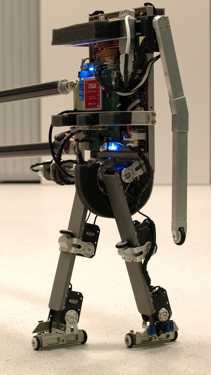 TU DELFT / BIOMECHANICAL ENGINEERING Robot 'Leo ...