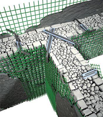 Consolidamento murature Fibre Net: resistenza a trazione senza confronto.