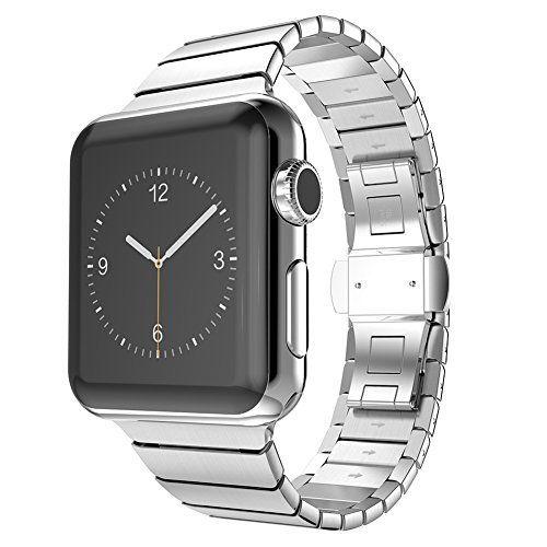 Surwin 42 mm Apple Watch Armband iWatch Band aus Edelstahl Uhrenarmband Ersatzband mit Metallverschluss für alle Versionen mit Werkzeug geliefert - http://uhr.haus/surwin/surwin-42-mm-apple-watch-armband-iwatch-band-aus-f-r