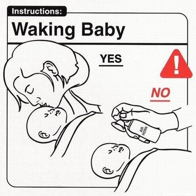 WorlDiscoveries: Funny Baby Do's and Don't's for New Parents: Baby Instructions, Laughing, Babies, Airhorn, Wake Baby, Funny Stuff, Humor, Funnies, Air Horns