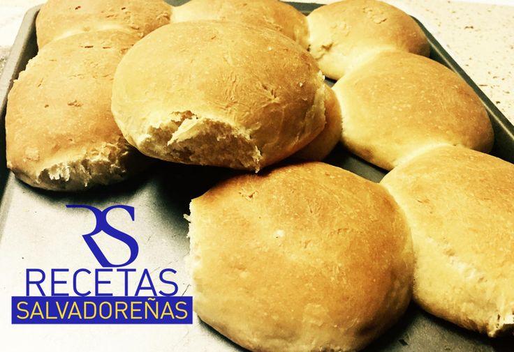 El Pan Francés Salvadoreño es único y muy especial. Y con esta receta, usted va a poder disfrutarlo como recien salido de la panadería, tal y como nos gusta
