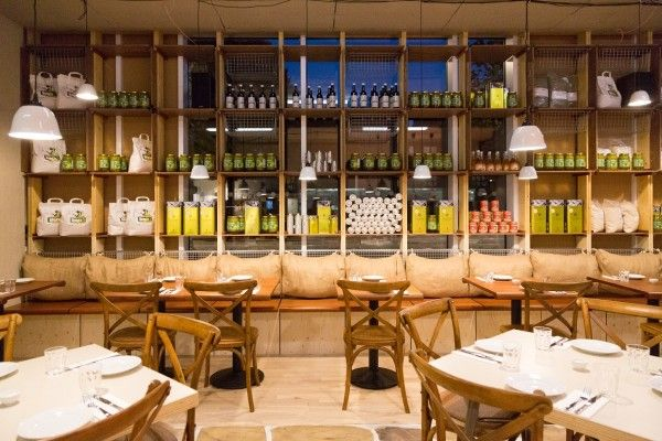 the greek larder restaurant kings cross london