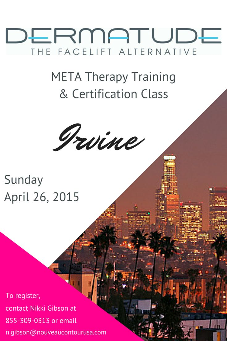 RSVP for our upcoming class in Irvine! #Dermatude