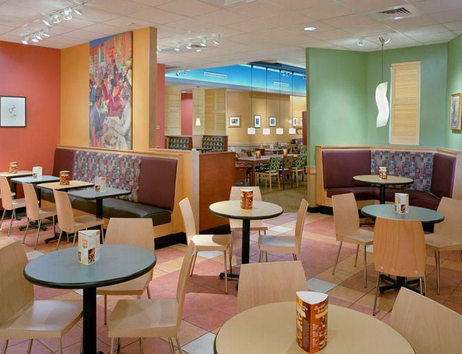 Panera Bread Contemporary Qsr Interiors Pinterest Warm Colors And Restaurant