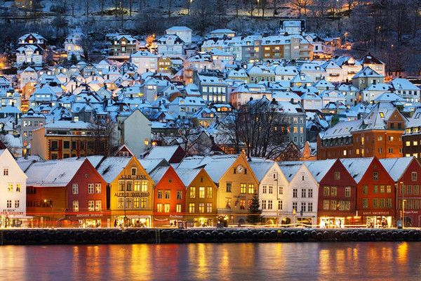 Bergen, Norway - Escapes That Are Total Winter Wonderlands - Photos