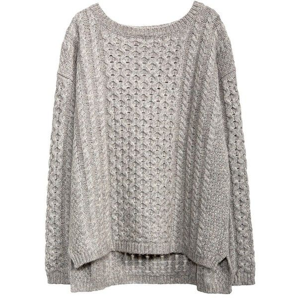 KISSING CABLE PULLOVER ($495) ❤ liked on Polyvore featuring tops, sweaters, cable pullover, chunky cable knit sweater, cable knit pullover sweater, pullover tops and cableknit sweater