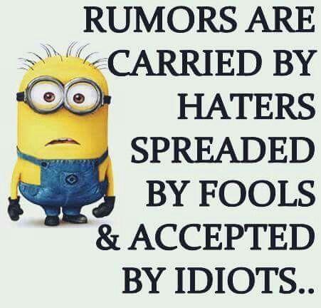 Rumors...