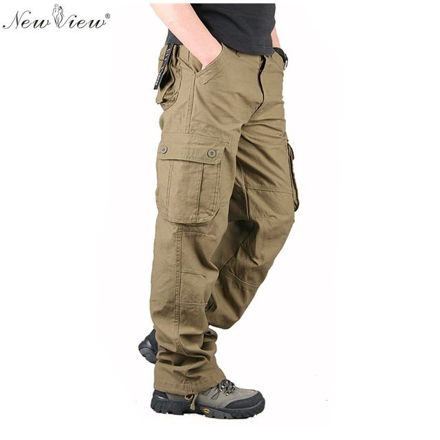 Check current price 2017 Fashion Men Pants Summer/Spring/Autumn Full Cargo Pant Male Clothing Military Trouser Pantalon Homme just only $21.80 - 23.90 with free shipping worldwide  #pantsformen Plese click on picture to see our special price for you