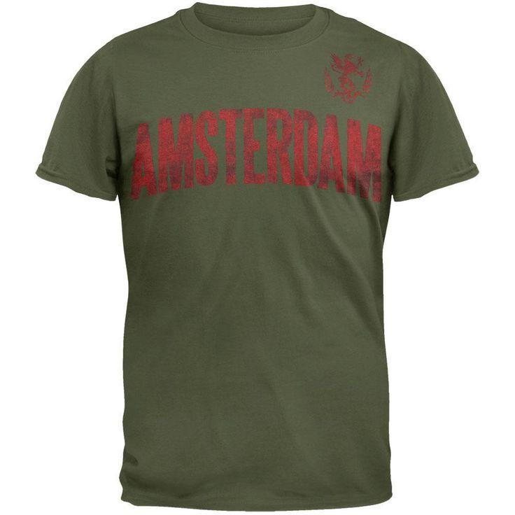 Amsterdam Worn Soccer T-Shirt