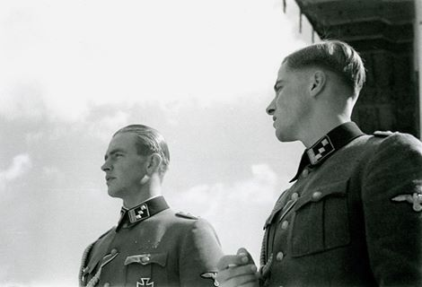 Max Wünsche and Jochen Peiper: