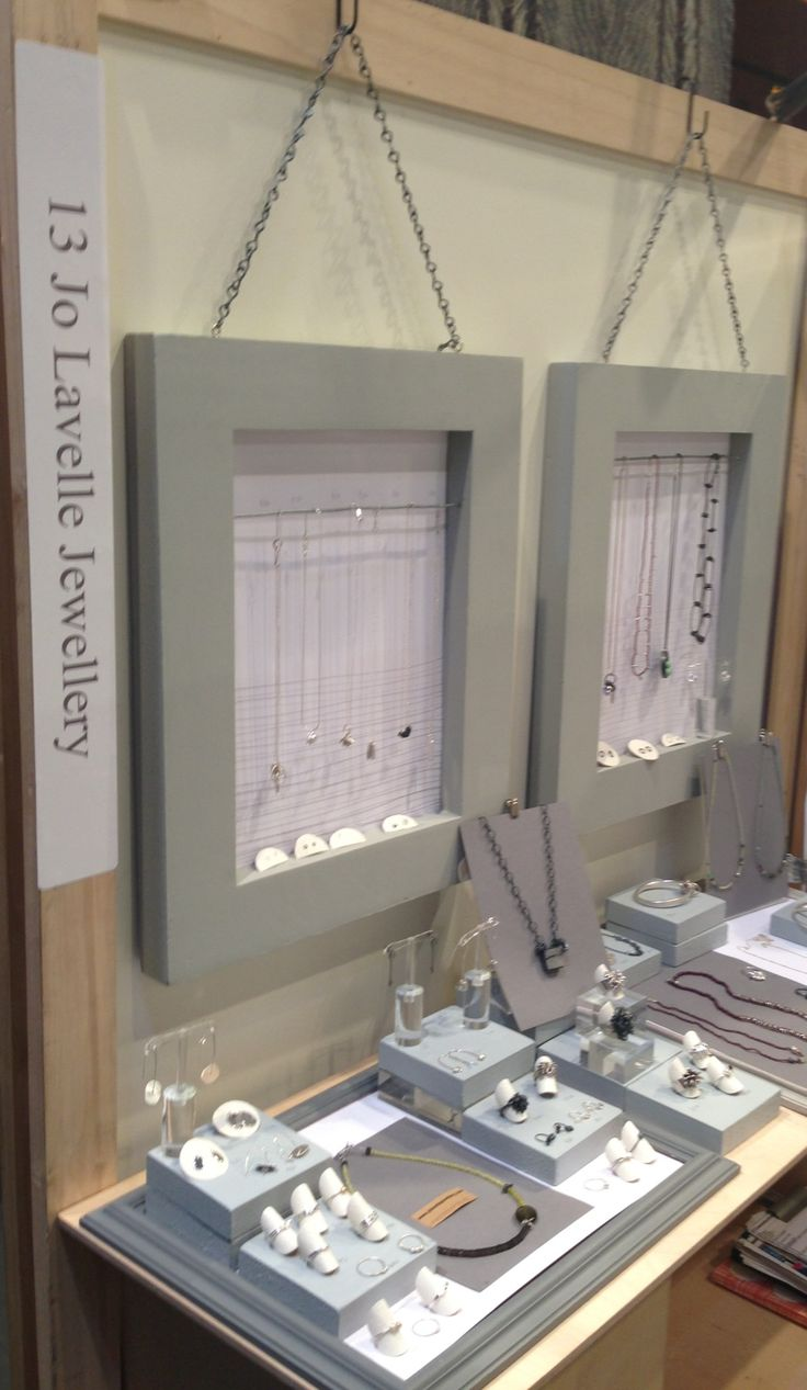 Hereford Contemporary Craft Fair 2013 - Love the idea of creating a wall backdrop to hang the displays from