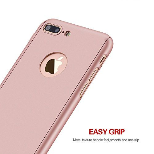 Feature: iPhone 7 Plus Case: Full 360 Degree Coverage iPhone 7 Plus Cover: Includes a FREE 0.3m 9H Tempered Glass Screen Protector iPhone 7 Plus Cases: Designed to handles all bumps, drops, and shock for all of your phone's flips and twists iPhone 7 Plus Covers: Precise openings on the protector case to allow access …