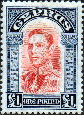 Cyprus 1938 SG 163 King George VI Fine Mint SG 163 Scott 155 Condition Fine LMM Only one post charge applied on multipule purchases Details head King