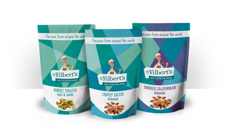 Packaging of the World: Creative Package Design Archive and Gallery: Mr.Filbert's Packaging Concept