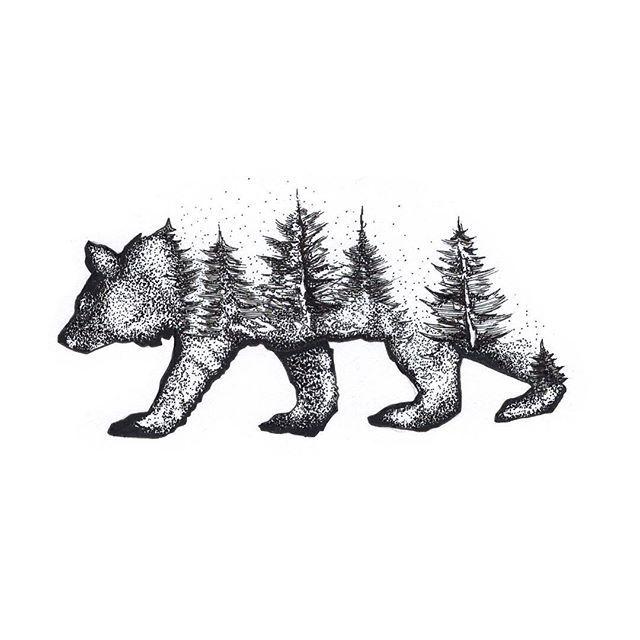 @ryanbstattoo mountain bear