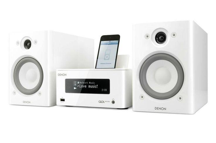 System muzyczny z głośnikiem Denon CEOL Piccolo DRA-N5 + SC-N5 na euro.com.pl