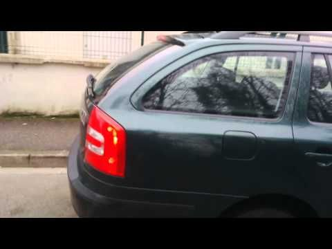 LHD Car Skoda octavia 4x4 going to France