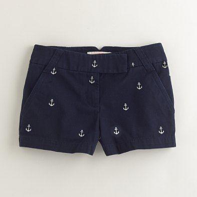 el pantalón corto azul