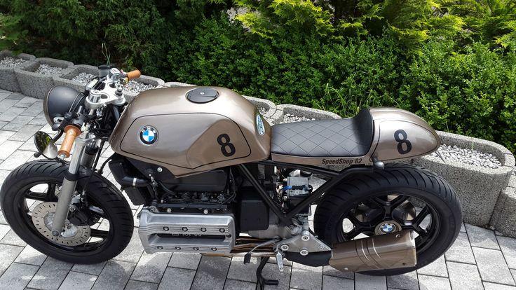 BMW K100 RS Cafe Racer a. eingetragen TÜV NEU Ähnl. Scrambler Bobber K75 R65 80 in Auto & Motorrad: Fahrzeuge, Motorräder, BMW   eBay