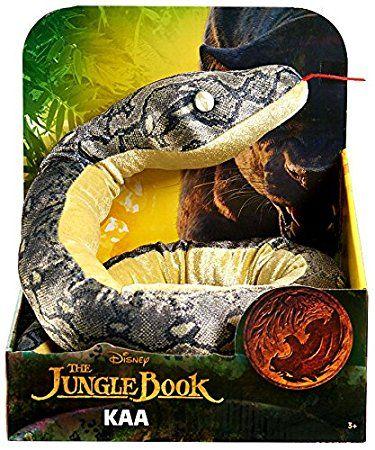 Disney The Jungle Book 2016 Movie Kaa Plush