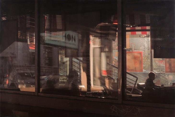 Café Ion, Moscow (1987) | Photographer: Boris Savelev - http://www.b-savelev.com/
