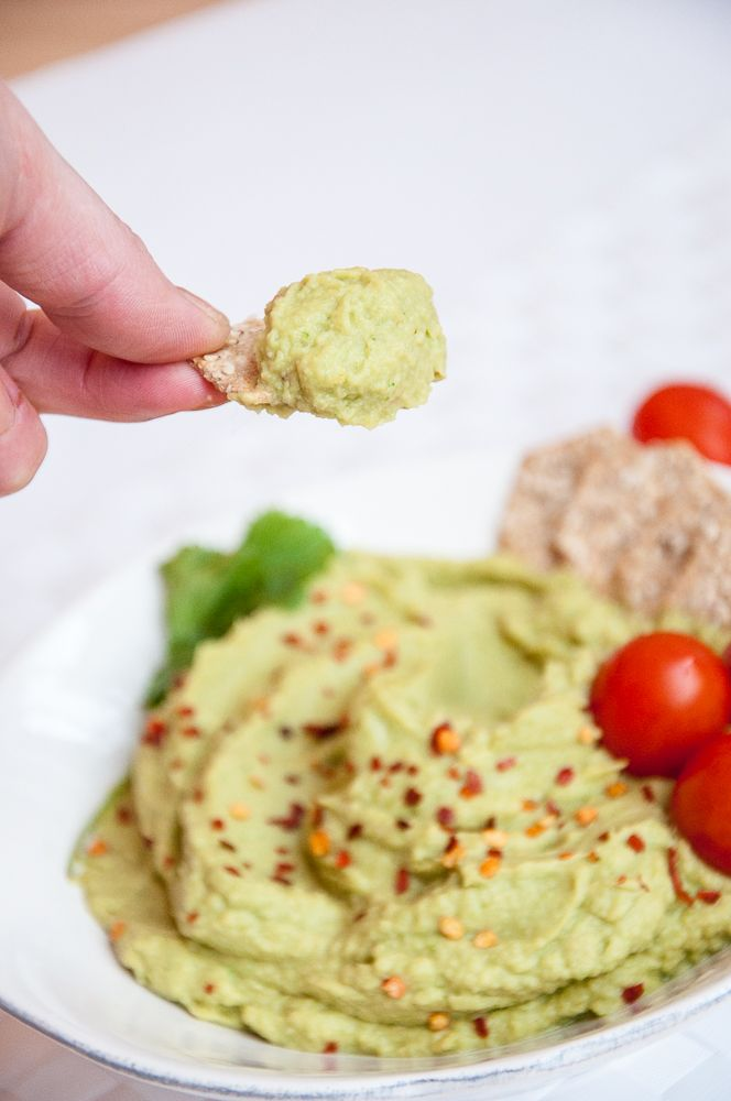 Avocado Hummus Recipe - Vegan Family Recipes