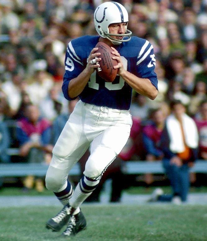 Johnny Unitas: Quarterback, Baltimore Colts, San Diego Chargers