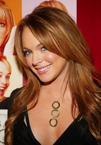 Lindsay Lohan - even though she is a horror to herself, she is still good looking