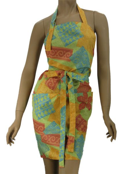 Fun tropical print hair stylist salon apron, click here to get it now:  http://www.wennerwear.com/tropicalapron.html $19.99