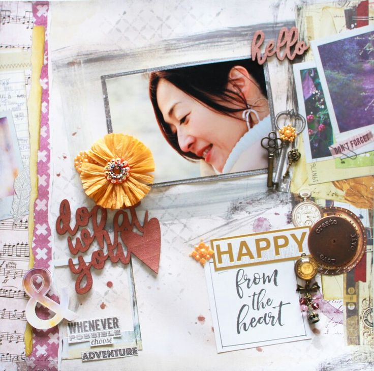 Today's layout was a completely new challenge for me! Check the Colorful Creations Challenge Site for April's new challenge!!  今回のチャレンジは、私にとって初めての試み!!自分だけの写真を使ってレイアウトを作ること…えー!恥ずかしい!でも、何とか完成(笑) Challenge Site (チャレンジサイト):  http://anothercolorfulcreation.blogspot.jp/2017/04/april-1st-challenge-this-is-me.html My Blog (ブログ) :  http://natsukoslittlecraftroom.blogspot.jp/2017/04/do-what-you-love-colorful-creations-dt.html