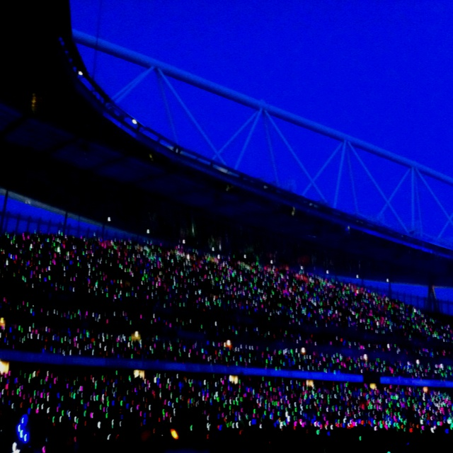 Coldplay at the emirates tonight