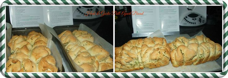 Herb and Garlic Pull Apart Bread..
