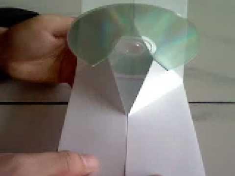 Pop up CD sleeve
