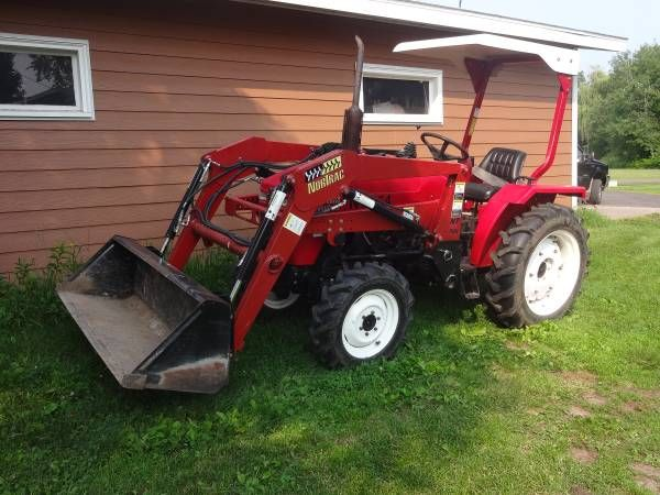 Used Tractor For Sale By Owner Compact Tractor With Loader
