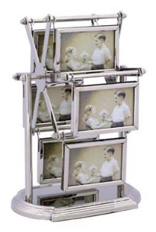 Cornici portafoto cornici da parete cornici argento for Portafoto verticale da parete