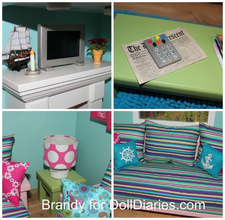 601 best AG Dollhouse images on Pinterest | American girl ...
